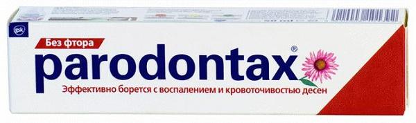 Парадонтакс без фтора, обзор средства для зубов
