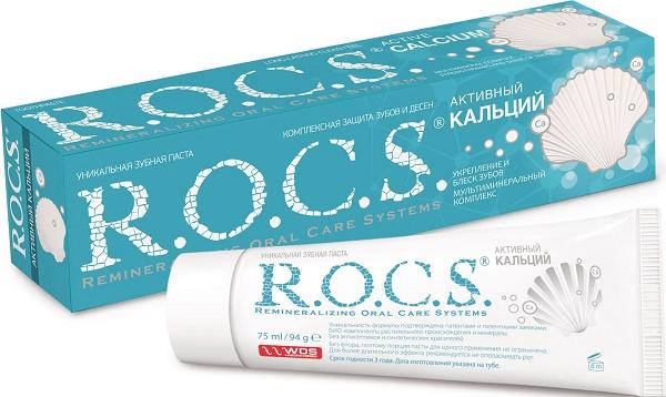 зубняа паста для взрослых ROCS