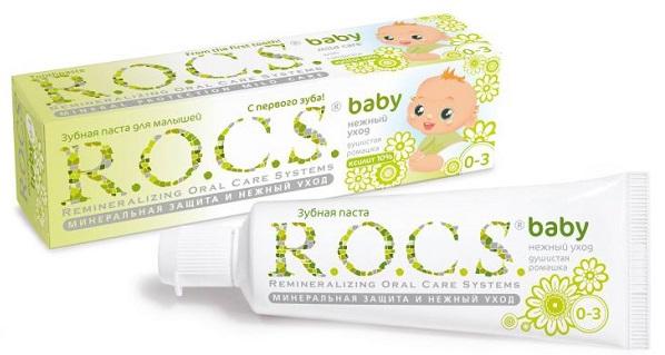 ROCS baby с ромашкой