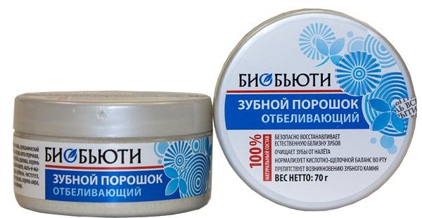 зубной порошок Биобьюти