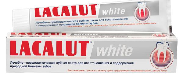зубная паста Лакалют White