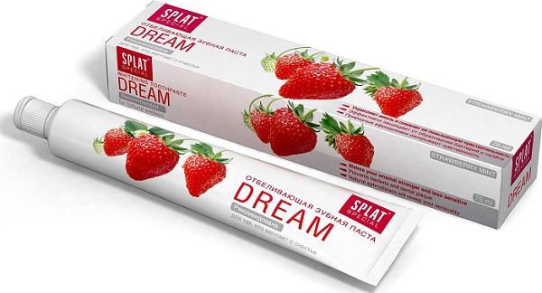 паста DREAM способствует снижению чувствительности зубов