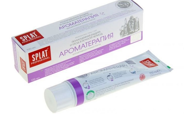 описание зубной пасты Сплат Ароматерапия