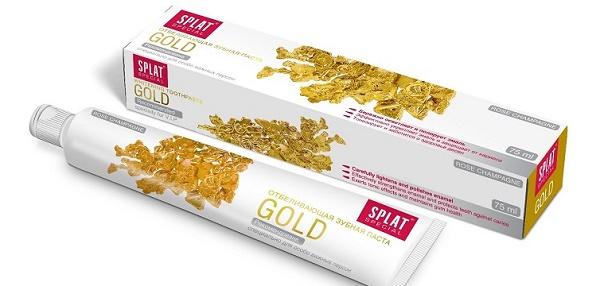 комплексный уход за полостью рта благодаря пасте Сплат GOLD
