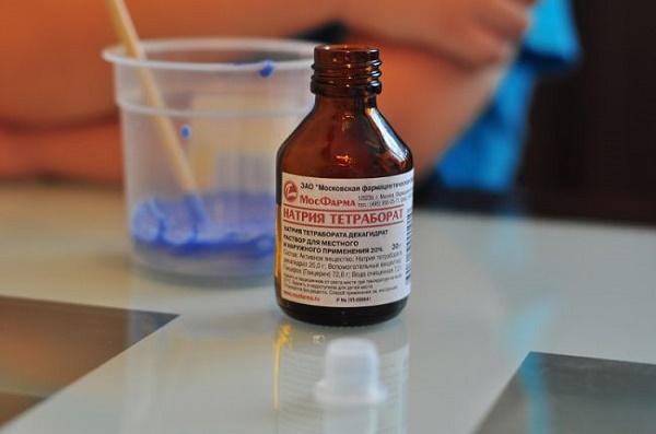 как действует тетраборат натрия против стоматита