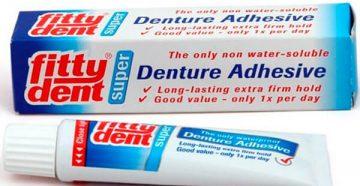 """крем для фиксации зубных протезов """"Фиттидент"""": где купить, цена"""