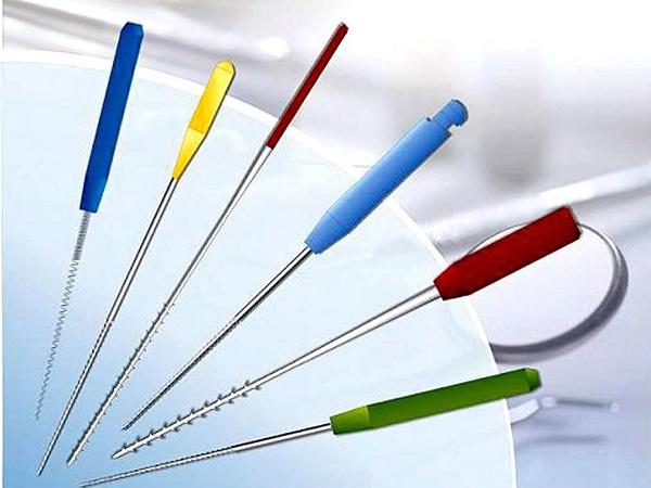 инструменты для очистки каналов зуба