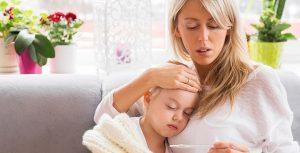 повышенная температура тела у ребенка