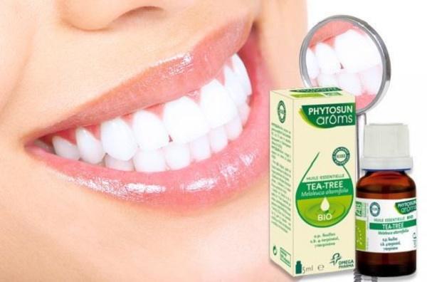 отбеливание зубов с помощью масла чайного дерева, несколько рекомендаций