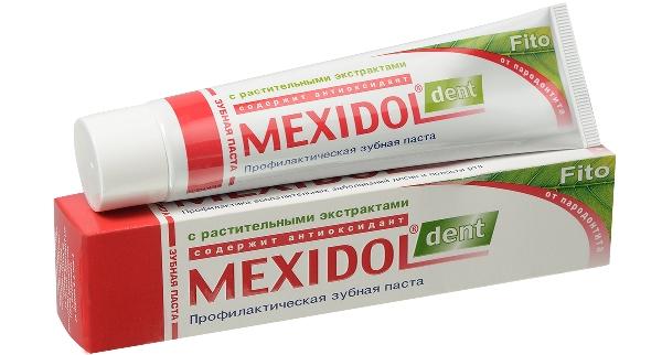 Зубная паста mexidol dent