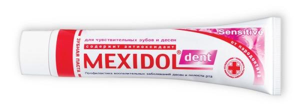 Зубная паста мексидол комплекс состав
