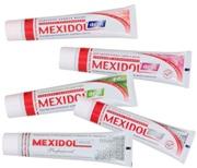Разновидности зубной пасты Мексидол
