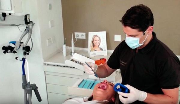 ионофорез зубов, если пломбированный мертвый зуб реагирует на холод