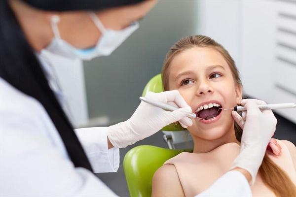 ребенок не боится посещения стоматолога