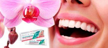 Применение крема для фиксации зубных протезов Rocs