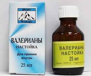 настойка валерианы поможет устранить боль