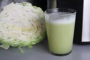 полоскание рта соком белокочанной капусты