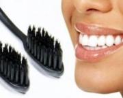 Бамбуковая угольная зубная щетка