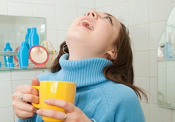 как полоскать рот отваром шалфея
