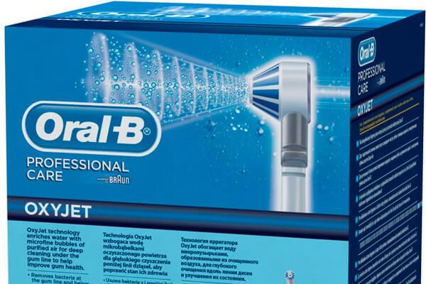 достоинства ирригатора braun oral b oxyjet md20
