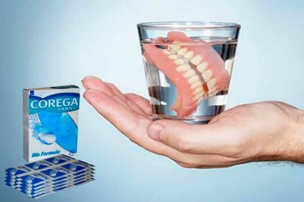 основные функции таблеток для чистки зубных протезов