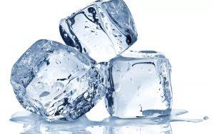 уменьшение зубной боли при помощи льда